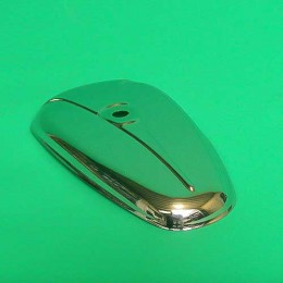 Fuel tank cover chrome  Puch