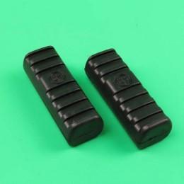 Footrest rubber set + logo Puch Monza