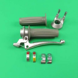 Gearchange lever grey 2 / 3 gear Puch