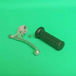 Clutch lever silver Puch
