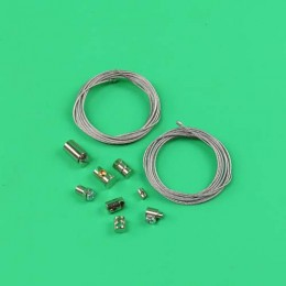 Innercable set Throttle / clutch cable Puch