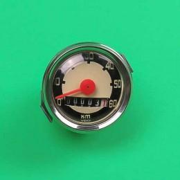 Speedometer 48mm until 60km Puch