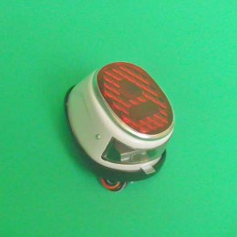 Rearlight classic white Puch