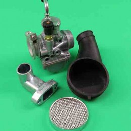 Carburetor set 19.5mm Puch Maxi