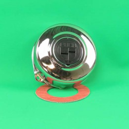 Flywheel cover chrome with logo Puch Maxi