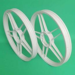 Starwheels set white Puch Maxi