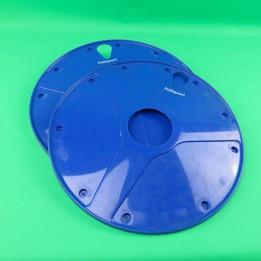 Wheel cover set blue Puch Maxi