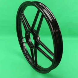 Starwheel black gloss front / rear Puch Maxi