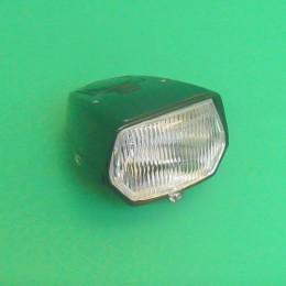 Headlight unit LED square black Puch Maxi