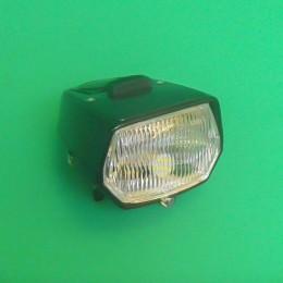 Headlight unit LED switch black Puch Maxi