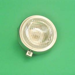 Headlight unit round chrome Puch Maxi