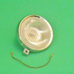Headlight unit install round chrome Puch Maxi