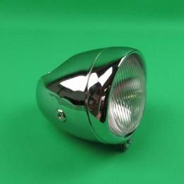 Headlight round big chrome Puch Maxi