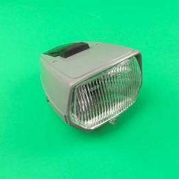 Headlight unit square grey Puch Maxi