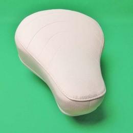 Saddle white Puch Maxi