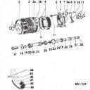 Frontwheel Puch MV / VS
